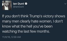 And just how many women hate themselves and their own gender