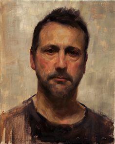 Aldo Balding — Self Portrait (1599×2005) The back round weaves into the face