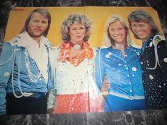 ABBA 9 POSTER 28x20+42x28+52x42 CM 1115 | eBay