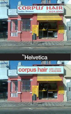 when all else fails, try helvetica... immediate awesome
