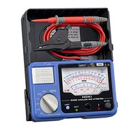 HIOKI 3490 Analog Meg-Ohm HiTester has 3 ranges: 250/500/1000 V with AC voltage testing is available for sales