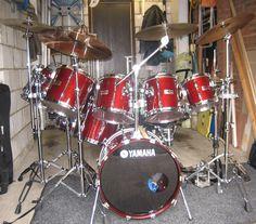 One of my favourite Drum Kit: Yamaha 9000