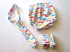 Mustache boy set baby toddler gift set first birthday outfit cake smash mustache party rainbow tie  diaper cover shoes on Etsy, $45.00