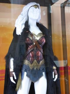 Wonder Woman film costume detail