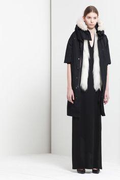 NEIL BARRETT $1,900 white goat fur collar blazer vest FW11 gilet jacket 40/4 NEW