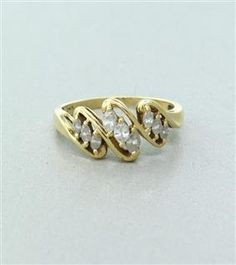 14K Yellow Gold Diamond Ring. Available @ hamptonauction.com for the May 19, 2014 auction!
