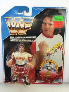"""Rowdy"" Roddy Piper(Hasbro) Wwf Toys, Wwf Hasbro, Roddy Piper, Wwe Action Figures, Sci Fi Tv, Child Hood, Wrestling Wwe, Wwe Superstars, Classic Toys"