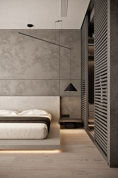 20 tips will help you improve the environment in your bedroom Modern Luxury Bedroom, Luxury Bedroom Design, Master Bedroom Interior, Bedroom Closet Design, Modern Master Bedroom, Bedroom Furniture Design, Home Room Design, Luxurious Bedrooms, Home Decor Bedroom