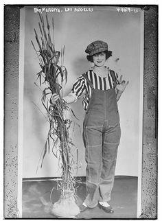 Farmerettes World War I- War Garden Girls Edwardian Dress, Edwardian Fashion, Women's Land Army, Fawn Colour, Dressing Sense, Photographs Of People, Shades Of White, Vintage Images, Vintage Food