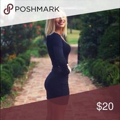 Black dress altered to fit like a glove Black formal dress Forever 21 Dresses Mini