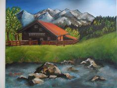 La mia Baviera (olio su tela 40x50)