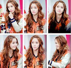 Yoona's stare lol #SNSD #Yoona