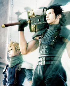 Final Fantasy: Crisis Core — Zack and Cloud