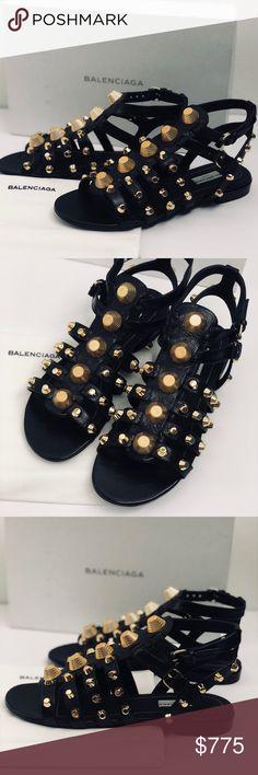 214d268df1ed98 NEW Balenciaga Studded Gladiator Sandals Authentic. More info to come  Balenciaga Shoes