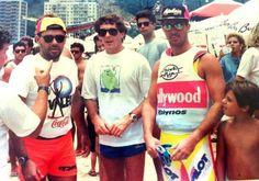 """No verão (no Brasil) de 1990-1991 Ayrton estava filmando um documentário na sua casa de Angra dos Reis, chamado """"O estilo de vida de Ayrton Senna""""."""