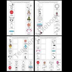 Kindergarten Rhyming Worksheets / Activities from Kindergarten Supplies on TeachersNotebook.com -  (16 pages)