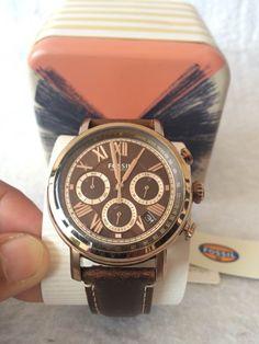 [Ricardo eletro] Relógio Masculino Cronógrafo Fossil R$ 379,90