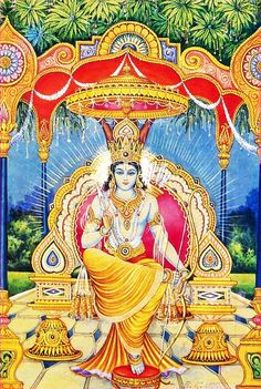 Lord Ramachandra | Vintage Indian Print Lord Vishnu, Lord Shiva, Sri Rama, Jai Hanuman, Indian Prints, Indian Gods, Wallpaper Free Download, Gods And Goddesses, Hinduism