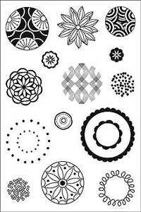 *Hero Arts Clear Stamps CIRCULAR DESIGNS Cleardesign CL124