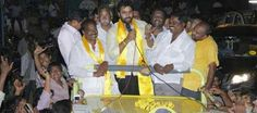 This elections are witnessing more star power than ever before. After Balakrishna, Pawan Kalyan this time its Nara Rohit who has come to campaign for TDP. Nara Rohit is a close relative to NCB. Roh...