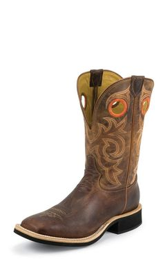 Tony Lama Men's Cowboy Crepe Goat Western Boot 6567