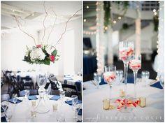 Photo by: Rebecca Coyle Photography.     #ptopofthebluegrass #ptopweddings2016 #weddings #reception #centerpiece #flowers #wedding