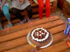 V Birthday Cake