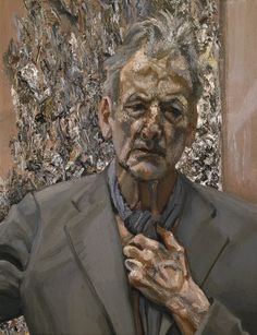Self-Portrait, Reflection  - Lucien Freud  Courtesy of Acquavella Galleries  Now at The Modern in Fort Worth