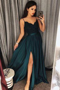 Green Prom Dresses #GreenPromDresses, Prom Dresses Long #PromDressesLong, Lace Prom Dresses #LacePromDresses, Cheap Prom Dresses #CheapPromDresses