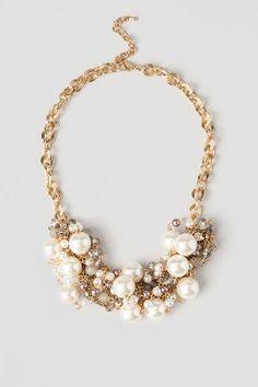 Savona Pearl Statement Necklace $32.00