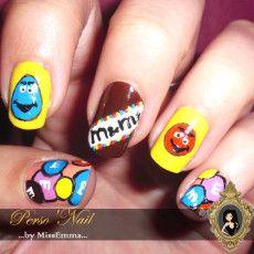 Mon Nail Art 100% Gourmandise !!! ;-)