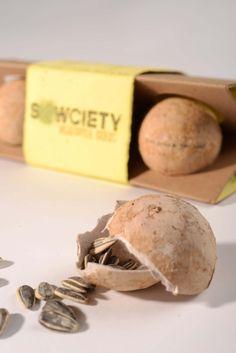 Sowciety Vegetable Seeds Packaging