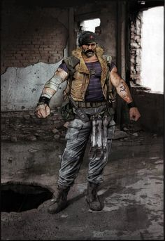 "Dragov from Segas ""the Club"" by ~MrLeeCarter on deviantART"
