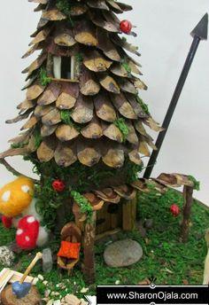 Fairy Dollhouse Roof Tutorial
