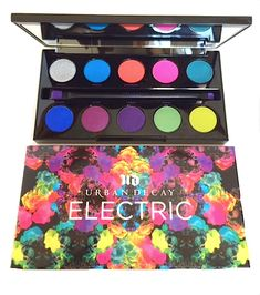 Urban Decay Electric Palette...pigmented colors, not for the shy!
