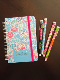 I have been eye balling the large agenda planner for a few weeks.  Darling Lilly Pulitzer agenda