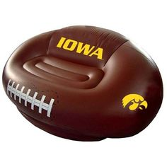 Iowa Hawkeyes Inflatable Football Sofa Football Fanatics  Http://www.amazon.com