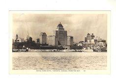 Cpa - canada - toronto - royal york hotel, from the bay