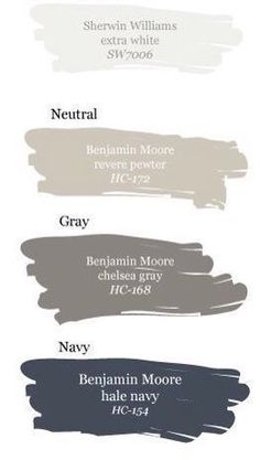 Exterior paint colors with my brick house? BM Hale Navy front door; revere pewter trim; Chelsea gray shutters? #hallwayideaspaint