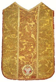 Chasuble established by Anna Jagiellon by Anonymous from Kraków or Warsaw (fabric from Italy), 1592 (PD-art/old), Muzeum Skarbca Katedralnego im. Jana Pawła II w Krakowie