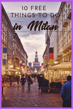 10 free things to do in Milan - discover the best Milan street style during fashion week and all year round, and find out what to see and do in Milan for free! Italy. #inLombardia #visitMilan #MilanStyle