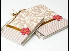 Resultado de imagem para caderno personalizado floral