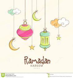Ramadan Activities, Ramadan Crafts, Ramadan Decorations, Islamic Decor, Islamic Art, Poster Ramadhan, Ramadan Background, Ramadan Greetings, Islamic Cartoon