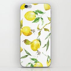Watercolor Lemons 8 Iphone Skin by B & K - iPhone X#iphone #lemons #skin #watercolor All You Need Is, Best Chicken Coop, Diy Projects For Beginners, Iphone Decal, Real Plants, Fun Hobbies, Iphone Skins, Lemon Plant, Fruit Trees