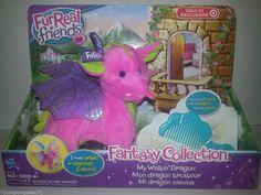 FurReal Friends Fantasy Collection My Walkin Dragon Skyheart #TigerElectronics