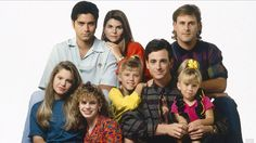 Cut it out! See first cast photo of Lifetime's 'Full House' movie