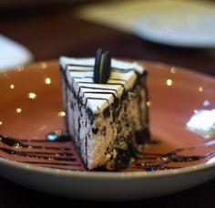 Oreo Cheesecake is rich, creamy and delish.    #ThisIsHardRock #Oreo #OreoCheesecake