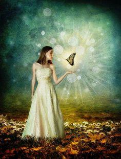 """""""A alma é uma borboleta... Há um instante em que uma voz nos diz que chegou o momento de uma grande metamorfose..."""" Rubem Alves  Catrin Welz-Stein"""
