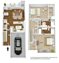 Wow! Brand new 2 Bedroom Townhomes coming to Regency Club Apartments in Evansville!