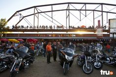The Full Throttle Saloon brings partying to a whole new level.